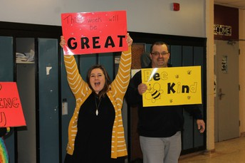 Day 1 - Ms. Houlihan and Mr. Smith