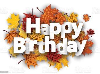 September Birthdays!