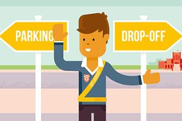 Give yourself some extra time for parent drop off in the morning