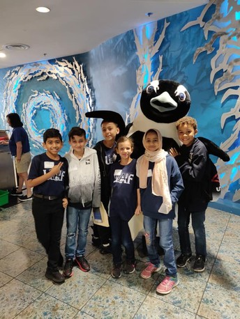 4th Grade Field Trip to the Florida Aquarium