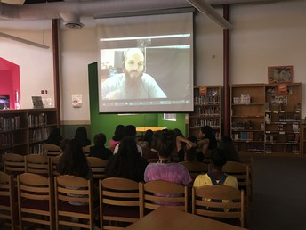 Skyping with Scientist Joseph Hill
