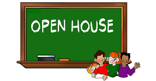 Open House--October 1st, 6:30-8:30