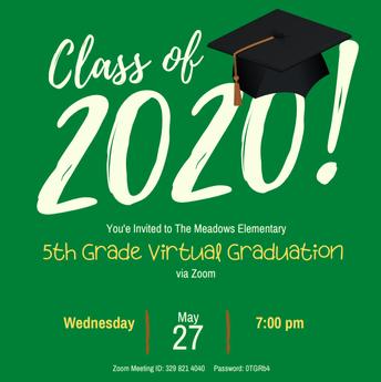5th Grade Virtual Graduation