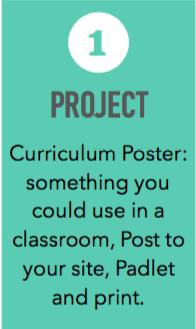 CREATE a Classroom Curriculum POSTER