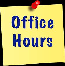 Office Hours (Horas de oficina)