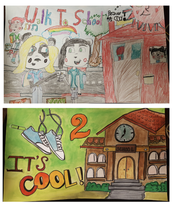 """It's Cool to Walk to School"" Poster Contest!"
