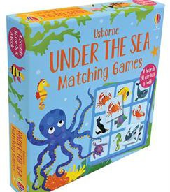 Matching Games (Under the Sea, Dinosaur and Bugs) - 12.99