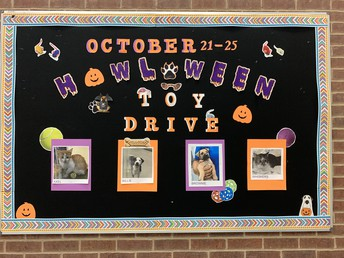 """""""HOWL-O-WEEN"""" TOY DRIVE"""
