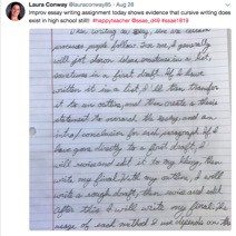 Old School Writing