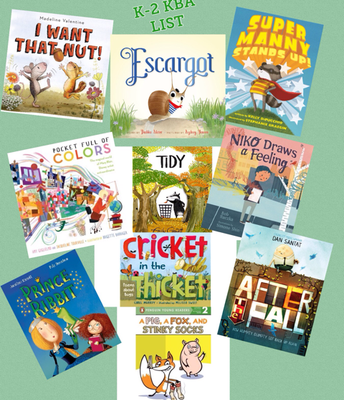 Kentucky Bluegrass Award Nominees Grades K-2