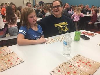 Ashley & Melanie Lambarth LOVE Bingo!