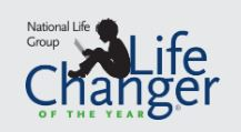LifeChanger of the Year Award - Deadline to nominate someone is December 31, 2019