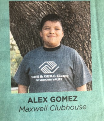 Alex - Student of the Year for BGC