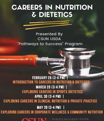 Explore Careers in Nutrition!