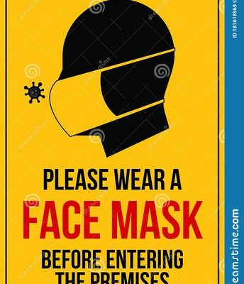You must bring and wear a mask while on campus