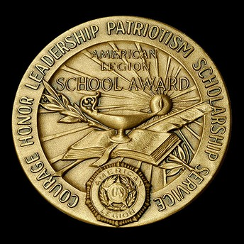 QCHS American Legion Award Winners