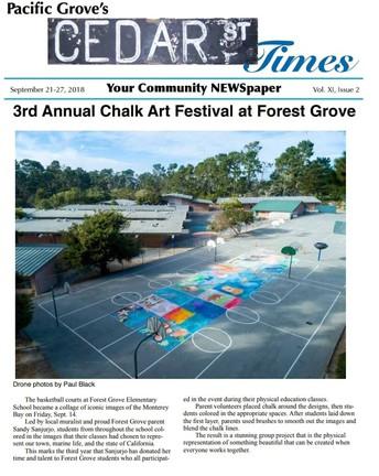 Chalk Art Day!