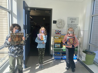 Our Cubs LOVE to read