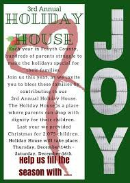 HOLIDAY HOUSE INFORMATION