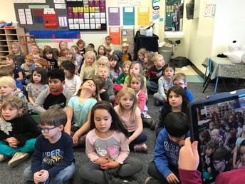 Student Captures Class Sing Along