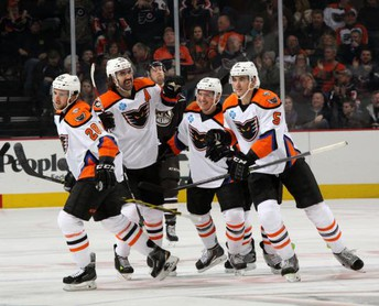 Home Games with the Lehigh Valley Phantoms - March 6, 8, 11, 13, 14, 20, 21
