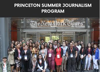 2021 Princeton Summer Journalism Program