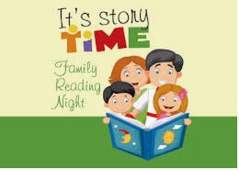 Virtual Family Reading Night - September 22, 7:00 PM