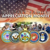 November - Military Family Appreciation Month