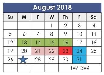 FINAL REMINDER: School Starts on Monday, Aug. 27!