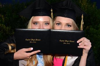 Capital High School Graduation Date