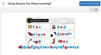 "I can build short ""e"" words!"