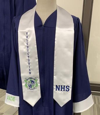 Honors Student, NHS Member, AICE Diploma, Valedictorian
