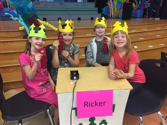 Mrs. Ricker's Battle of the Books Team