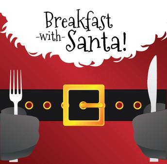PTO Breakfast with Santa