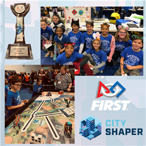 Wyncote Roarin' Robots Take Top Honors at FIRST Robotics Competition