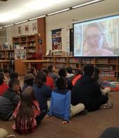 "4th Grade Read Around the World "" Google Hangout"""