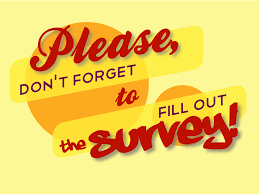 Fill out the survey below--it is underlined in blue! Join us on December 1st at 6-7 to learn more about returning to school and provide us with input.