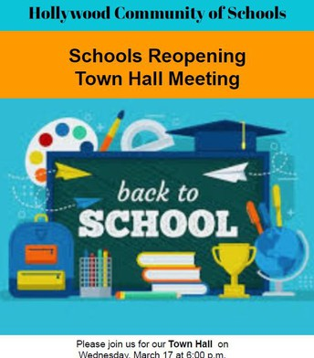 Hollywood Community Of Schools Town Hall