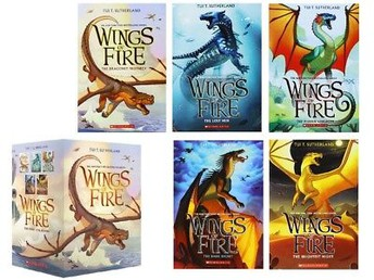 The WIngs of Fire Series, Books 1-5