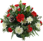 FFA December Flower Arrangement