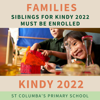 Do you have a child due to start Kindy 2022?
