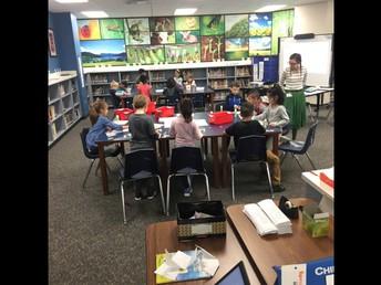 Library Makerspace kicked off last week!