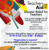 Disaster Relief for Teachers