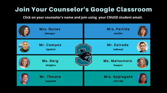 Join Your Counselor's Google Classroom