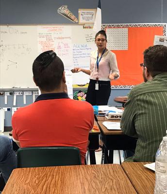 Teacher Leaders Facilitating PD