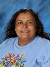 Juanita Padilla, Building Aide