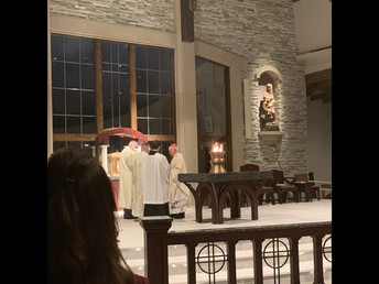 Blessing of the Altar