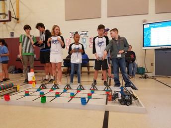 Robotics Club Advances!