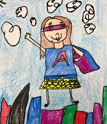 Addie Varughese, Grade 1