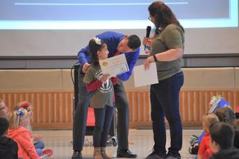 Sloane R. was our Boomerang Award winner!